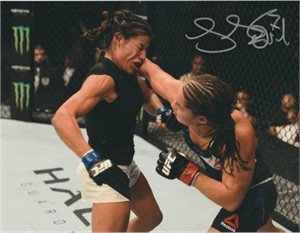 Jessica Eye autographed 8x10 MMA photo