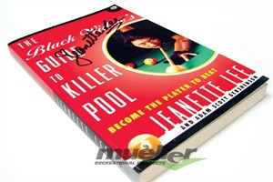 Jeanette Lee autographed The Black Widow's Guide to Killer Pool book