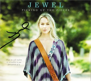 Jewel autographed Picking Up the Pieces CD