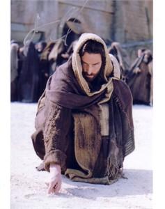 Jim Caviezel autographed The Last Temptation of Christ 8x10 photo