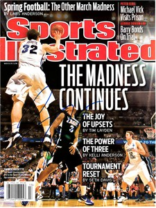 Jimmer Fredette autographed BYU Cougars 2011 Sports Illustrated cover