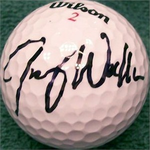 Jimmy Walker autographed golf ball