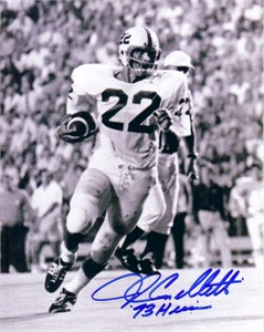 John Cappelletti autographed Penn State 8x10 photo inscribed Heisman