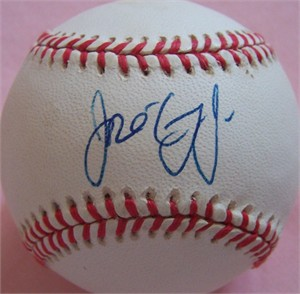 Jose Cruz Jr. autographed AL baseball