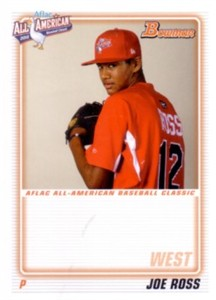 Joe Ross 2010 AFLAC Bowman Rookie Card