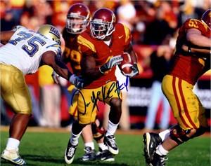 Joe McKnight autographed USC Trojans 8x10 photo