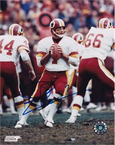 Joe Theismann autographed Washington Redskins 8x10 photo