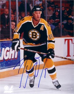 Joe Thornton autographed Boston Bruins 8x10 photo