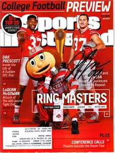 Joey Bosa autographed Ohio State Buckeyes 2015 Sports Illustrated