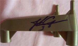 John Carney autographed kicking tee