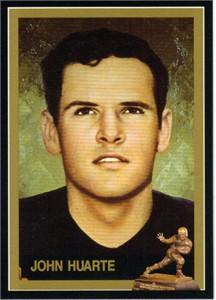 John Huarte Notre Dame Heisman Trophy winner card