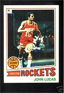 John Lucas 1977-78 Topps Rookie Card