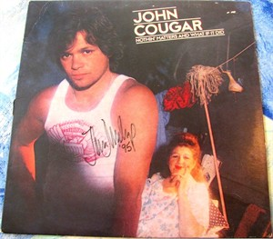 John Cougar Mellencamp autographed Nothin' Matters And What If It Did record album