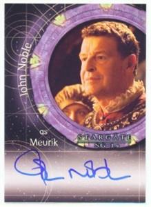 John Noble certified autograph Stargate SG-1 card
