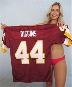 John Riggins Washington Redskins authentic Nike double stitched burgundy jersey NEW