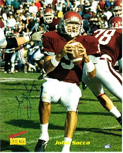 John Sacca autographed Eastern Kentucky Colonels 8x10 photo