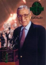 John Wooden 1993 Classic 4-Sport Gold card (1 of 3900)