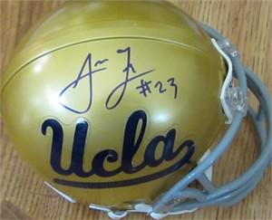 Johnathan Franklin autographed UCLA Bruins mini helmet