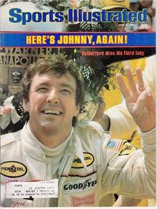 1980 Indianapolis 500 Sports Illustrated (Johnny Rutherford Wins 3rd Indy 500)