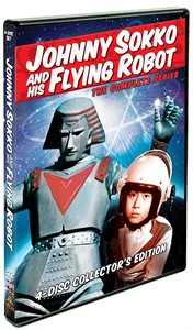 Johnny Sokko and his Flying Robot complete series 4 DVD set LIKE NEW
