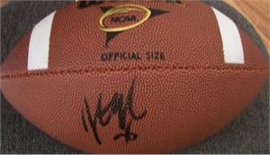 Jonathan Ogden autographed Wilson NCAA football