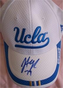 Jonathan Ogden autographed UCLA Bruins Adidas cap or hat