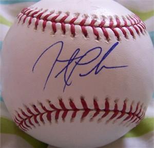 Jonathan Papelbon autographed MLB baseball