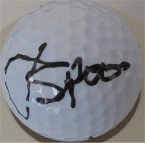 Jordan Spieth autographed Wilson golf ball