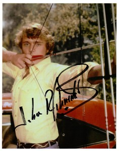 John Schneider autographed Dukes of Hazzard 8x10 photo