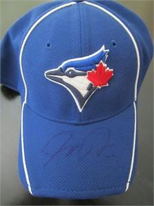 Josh Donaldson autographed Toronto Blue Jays batting practice cap or hat