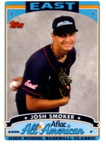 Josh Smoker 2006 AFLAC Topps Rookie Card