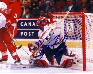 Jose Theodore autographed Montreal Canadiens 8x10 photo