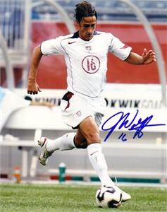Josh Wolff autographed U.S. Soccer 8x10 photo