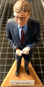 John Wooden autographed UCLA Bruins Gartlan figurine (limited edition 1975)