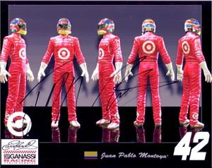 Juan Pablo Montoya autographed NASCAR 8x10 photo