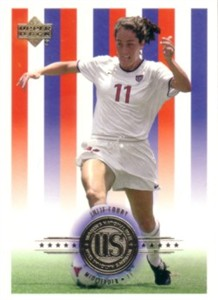 Julie Foudy 2000 Upper Deck US Women's National Team soccer card