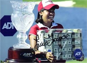 Julieta Granada (LPGA) autographed 5x7 golf photo
