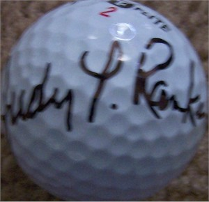 Judy Rankin (LPGA) autographed golf ball