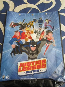 Justice League Action 2017 Comic-Con huge promo tote bag or backpack