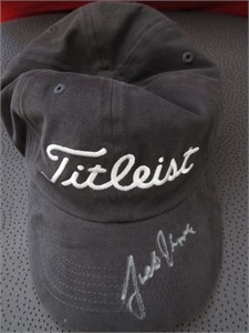 Justin Thomas autographed Titleist golf cap or hat