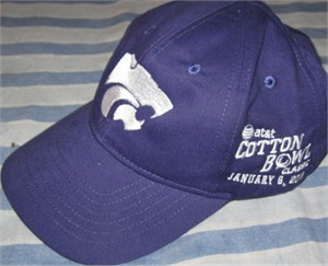 Kansas State Wildcats 2012 Cotton Bowl cap or hat NEW