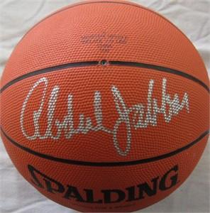 Kareem Abdul-Jabbar & Bill Walton autographed Spalding regulation size basketball