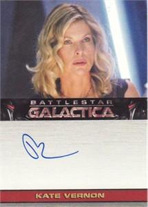 Kate Vernon Battlestar Galactica certified autograph card