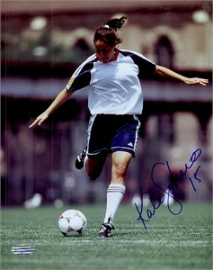 Kate (Sobrero) Markgraf autographed 8x10 soccer photo (Steiner)