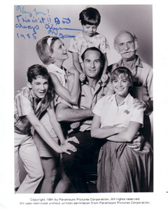 Keenan Wynn autographed Call to Glory 8x10 cast photo