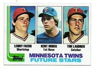 Kent Hrbek 1982 Topps Rookie Card #766