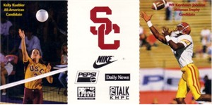 Keyshawn Johnson 1995 USC football schedule