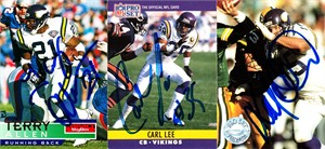 Keith Millard autographed Minnesota Vikings 1991 Pro Set card