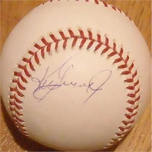 Ken Griffey Jr. autographed Rawlings MLB baseball
