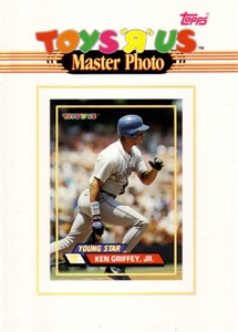 Ken Griffey Jr. Seattle Mariners 1993 Toys R Us 5x7 inch Master Photo card